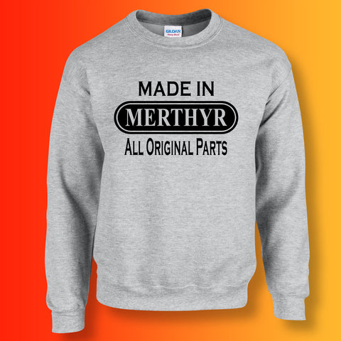 Made In Merthyr All Original Parts Unisex Sweater