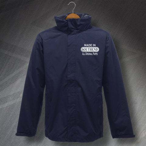 Southend Jacket Embroidered Waterproof Jacket Made in Southend All Original Parts