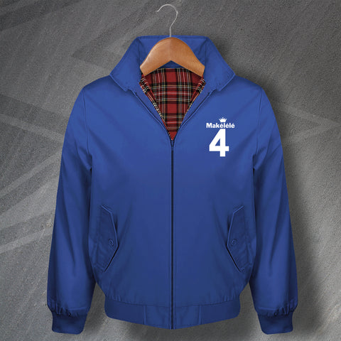 Makelele 4 Football Harrington Jacket Embroidered