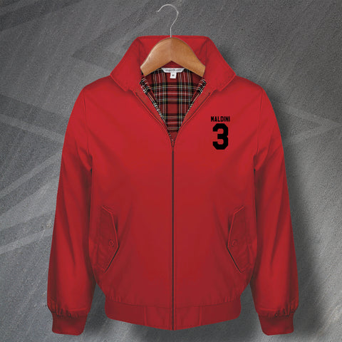 Maldini 3 Football Harrington Jacket Embroidered