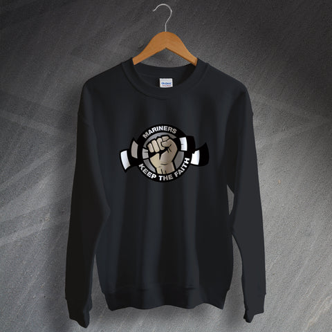 Grimsby Football Sweatshirt Mariners Keep The Faith