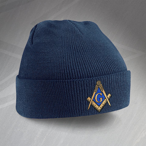 Masons Embroidered Beanie Hat