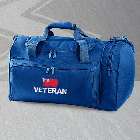 Merchant Navy Holdall Embroidered Veteran