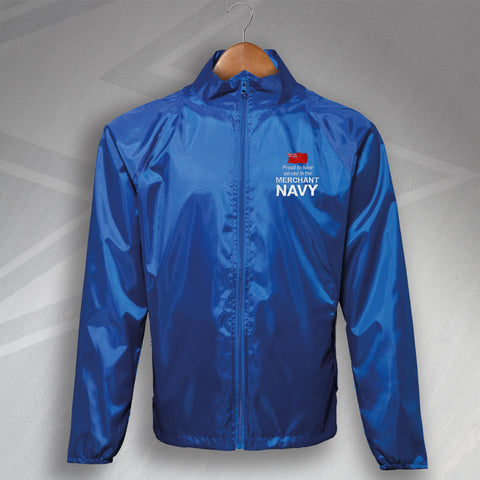 Merchant Navy Lightweight Jacket Embroidered Proud to Have Served