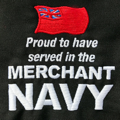 Merchant Navy Embroidered Badge