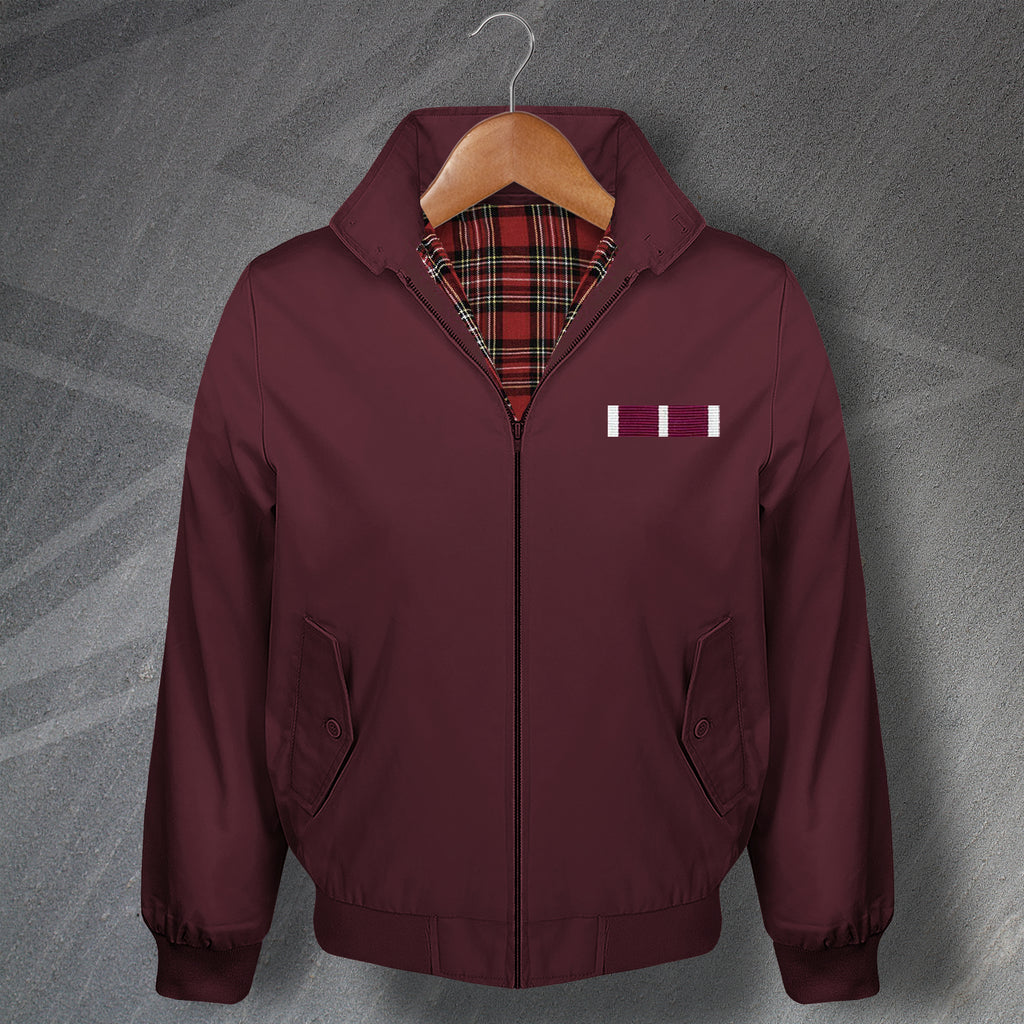Meritorious Service Medal Bar Harrington Jacket