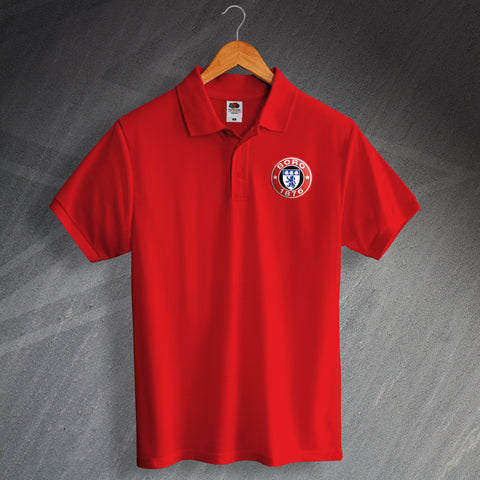Middlesbrough Football Polo Shirt Printed 1876