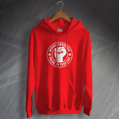 Middlesbrough Football Hoodie Pride of Teeside