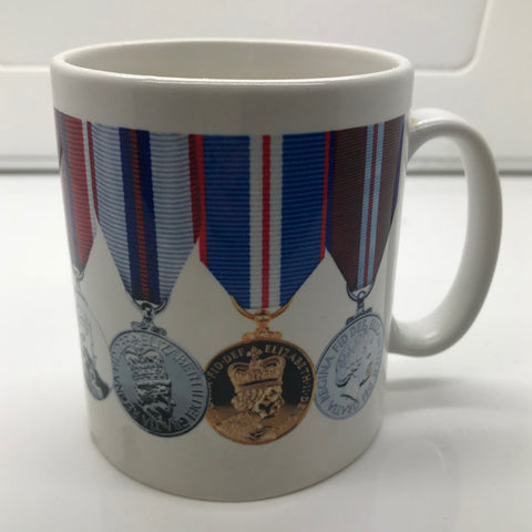Personalised Military Medal Mug