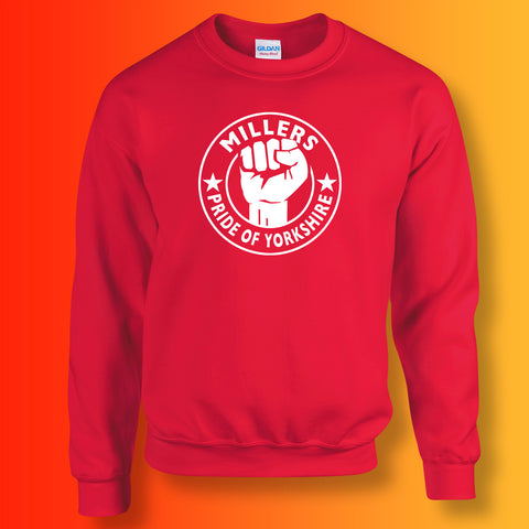 Millers Sweater with The Pride of Yorkshire Design