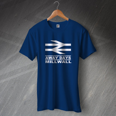Millwall Football T-Shirt Away Days