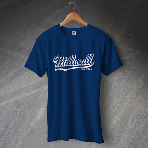 Millwall Football T-Shirt Number 1 Fan