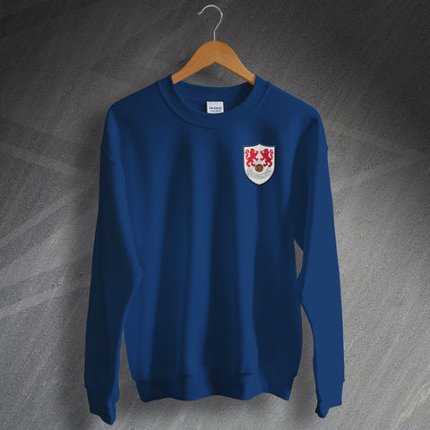 Millwall Football Sweatshirt Embroidered 1956