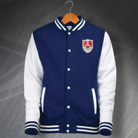 Millwall Football Varsity Jacket Embroidered 1956