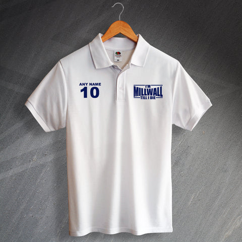 Personalised Millwall Polo Shirt
