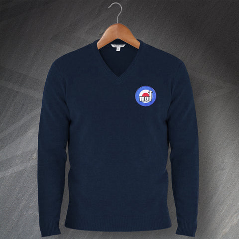 MOD Jumper Embroidered V-Neck Target