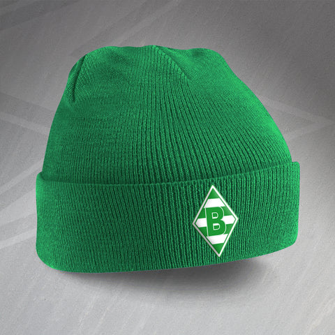 Monchengladbach Football Beanie Hat Embroidered 1970