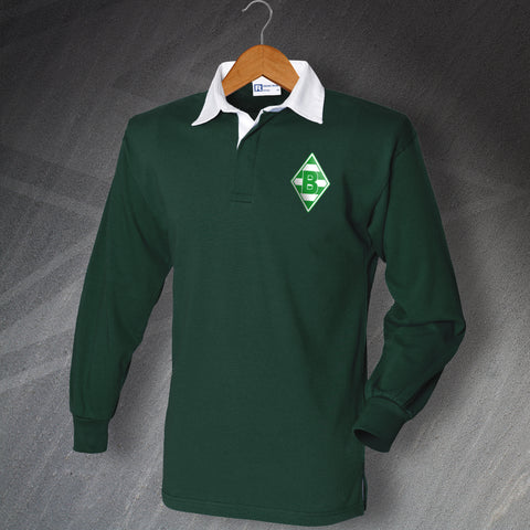 Monchengladbach Football Shirt Embroidered Long Sleeve 1970