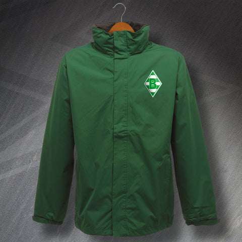 Monchengladbach Football Jacket Embroidered Waterproof 1970