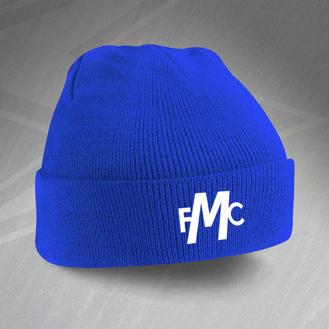 Montrose Football Beanie Hat Embroidered 1971