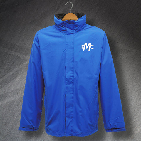 Montrose Football Jacket Embroidered Waterproof 1973