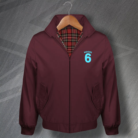 Moore 6 Football Harrington Jacket Embroidered
