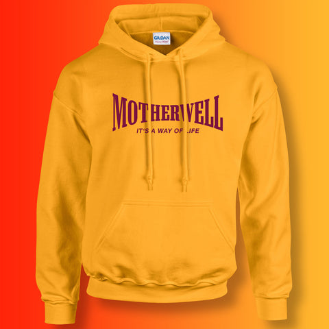 Motherwell Hoodie with It's a Way of Life Design