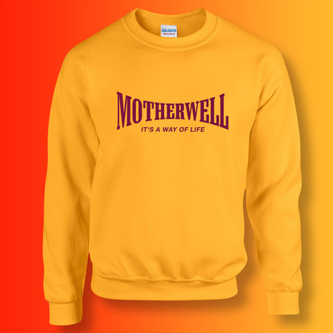 Motherwell Sweater with It's a Way of Life Design