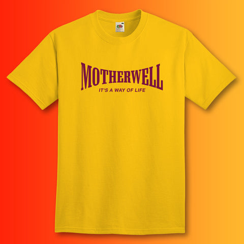 Motherwell Shirt with It's a Way of Life Design