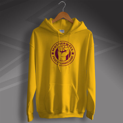 Motherwell Hoodie with The Pride of Lanarkshire Design