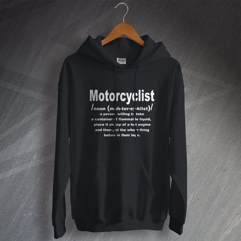 Motorcycle Hoodie Motorcyclist Meaning