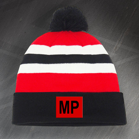 Royal Military Police Bobble Hat Embroidered MP