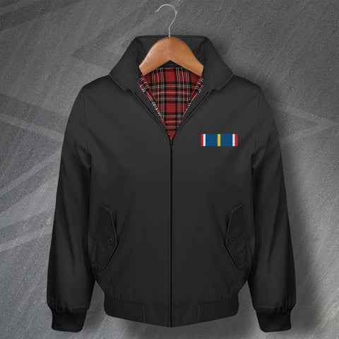 National Service Medal Bar Harrington Jacket