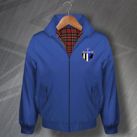 Retro New Brompton Classic Harrington Jacket with Embroidered Badge