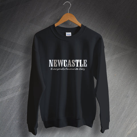 Newcastle Sweatshirt Everyone's Favourite City