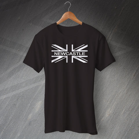 Newcastle Football T-Shirt Union Jack