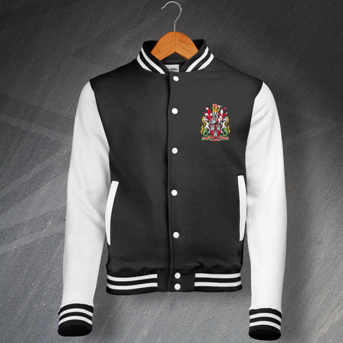 Newcastle Football Varsity Jacket Embroidered 1969