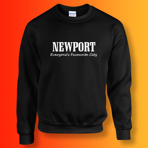 Newport Sweater with Everyone's Favourite City Design