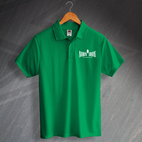 Norn Iron It's a Way of Life Polo Shirt