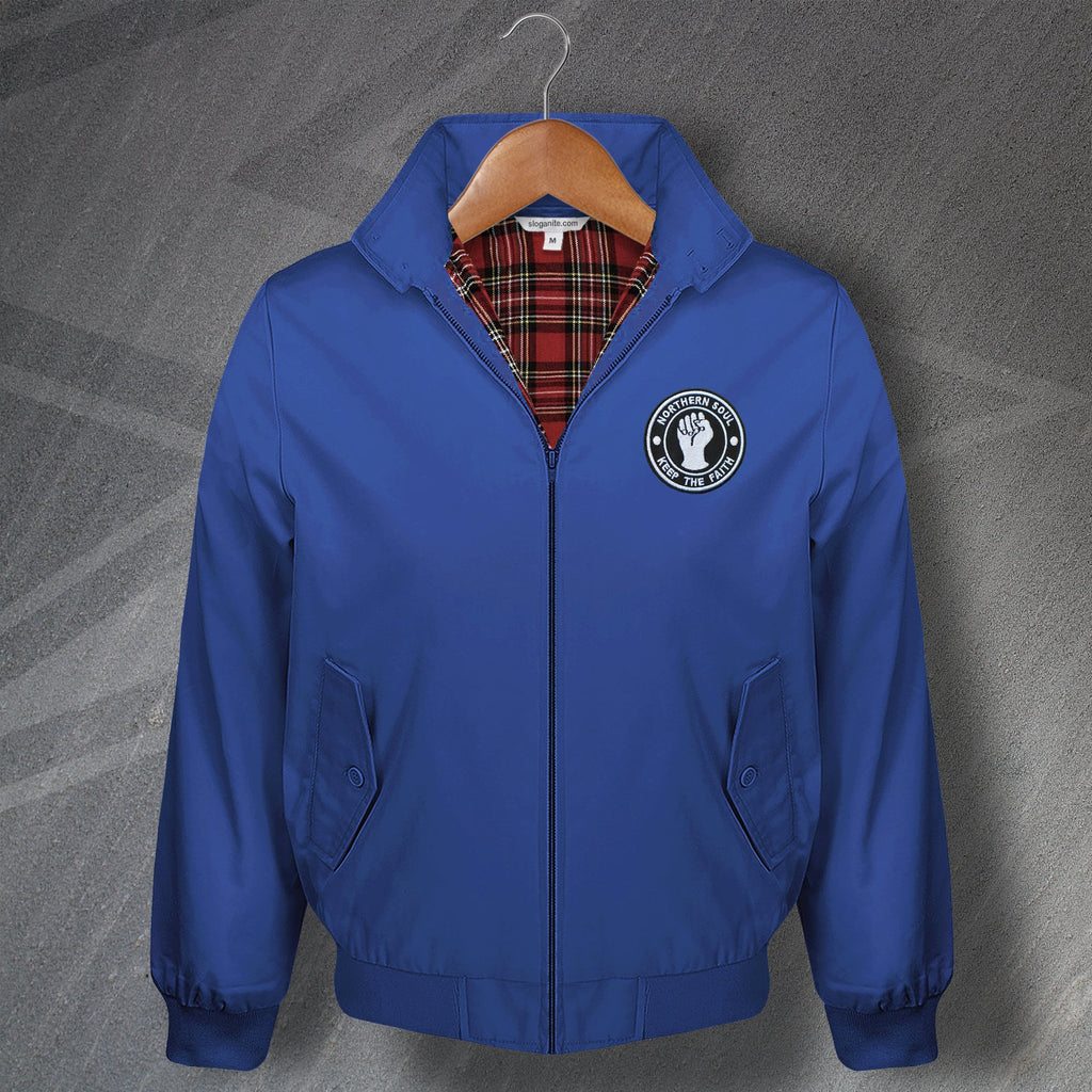 Northern Soul Bomber Jacket