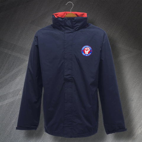 Northern Soul Jacket Embroidered Waterproof Keep The Faith