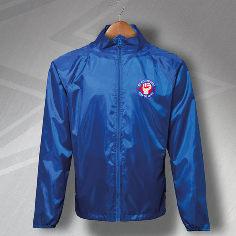 Northern Soul Keep The Faith Embroidered Lightweight Jacket