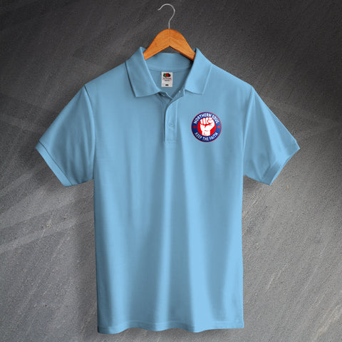 Northern Soul Polo Shirt Printed Keep The Faith