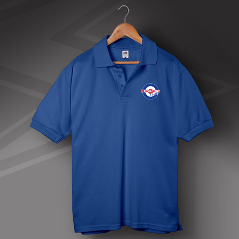 Northern Soul Polo Shirt Embroidered Roundel