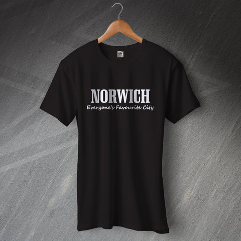 Norwich T-Shirt Everyone's Favourite City