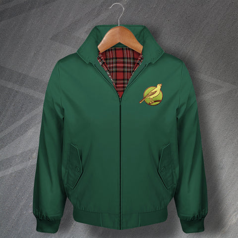 Norwich Football Harrington Jacket Embroidered 1902