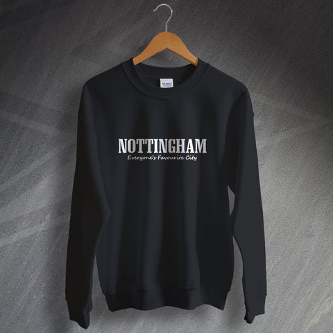 Nottingham Sweatshirt Everyone's Favourite City