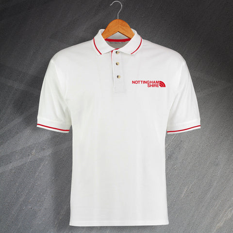 Nottinghamshire Polo Shirt Embroidered Contrast