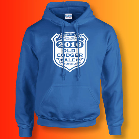 Old Codger Ageing Throughout 2016 Unisex Hoodie