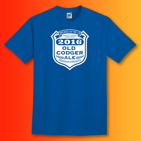 Old Codger Ageing Throughout 2016 Unisex T-Shirt